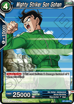 Mighty Striker Son Gohan