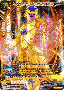Golden Frieza, Resurrected Terror