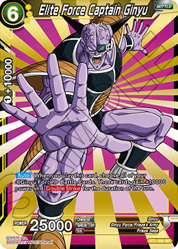 Elite Force Captain Ginyu