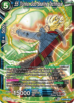 SS Trunks, God-Sealing Technique