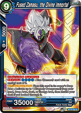Fused Zamasu, the Divine Immortal