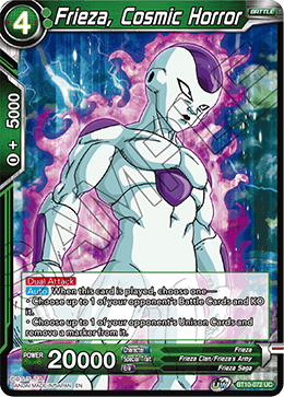 Frieza, Cosmic Horror