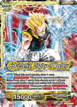 SS Gotenks, Display of Mastery