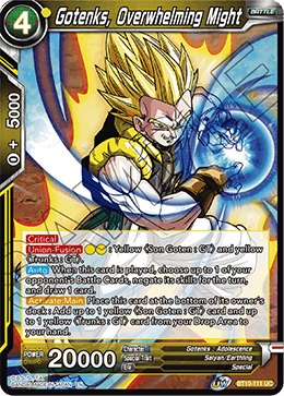 Gotenks, Overwhelming Might