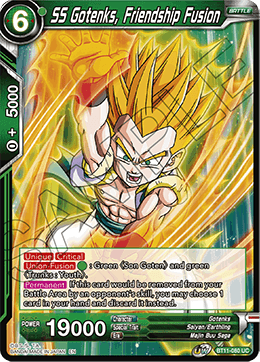 SS Gotenks, Friendship Fusion