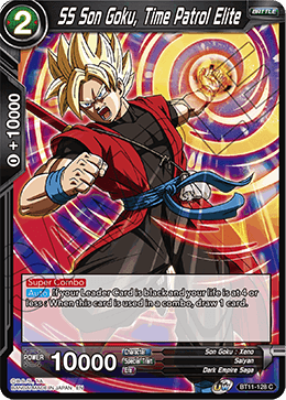 SS Son Goku, Time Patrol Elite