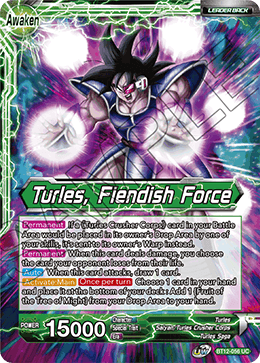 Turles, Fiendish Force