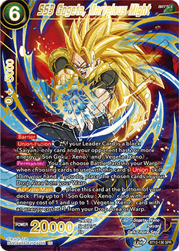 SS3 Gogeta, Marvelous Might