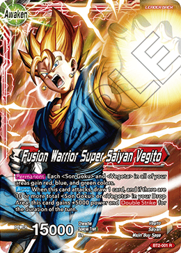 Fusion Warrior Super Saiyan Vegito