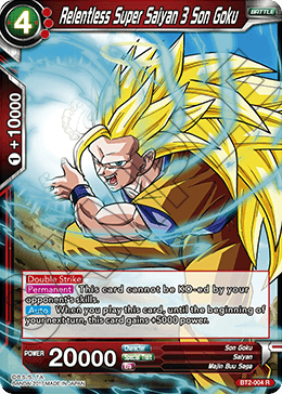 Relentless Super Saiyan 3 Son Goku