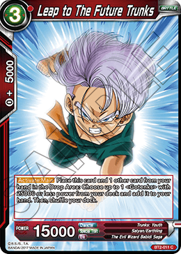 Leap to The Future Trunks