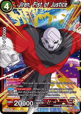 Jiren, Fist of Justice