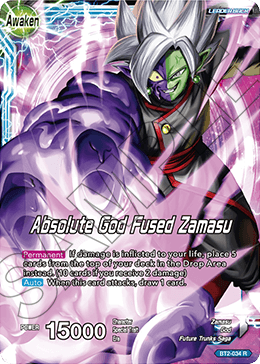 Absolute God Fused Zamasu