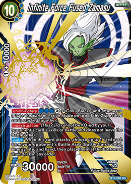 Infinite Force Fused Zamasu