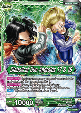 Diabolical Duo Androids 17 & 18
