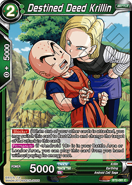 Destined Deed Krillin
