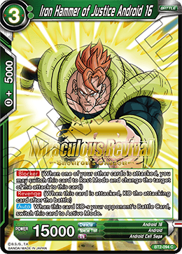 Iron Hammer of Justice Android 16