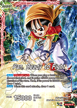 Pan, Ready to Fight