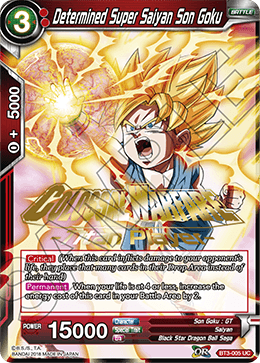 Determined Super Saiyan Son Goku