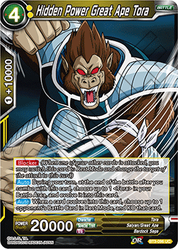 Hidden Power Great Ape Tora