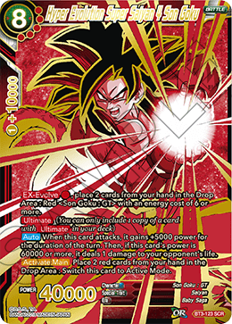 Hyper Evolution Super Saiyan 4 Son Goku
