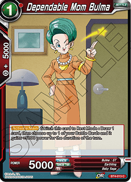 Dependable Mom Bulma
