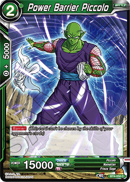 Power Barrier Piccolo