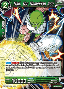 Nail, the Namekian Ace
