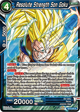 Resolute Strength Son Goku