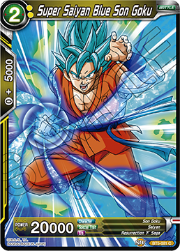 Super Saiyan Blue Son Goku