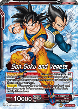Son Goku and Vegeta