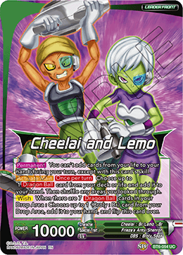 Cheelai and Lemo