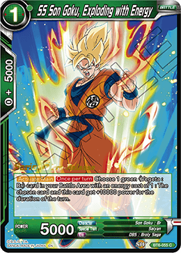 SS Son Goku, Exploding with Energy