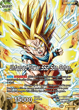 Untapped Power SS2 Son Gohan