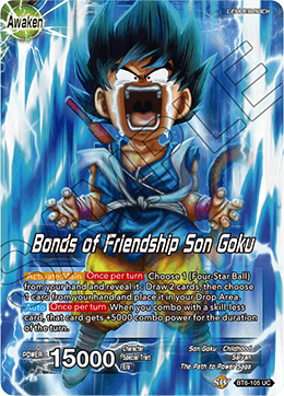 Bonds of Friendship Son Goku