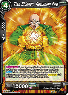 Tien Shinhan, Returning Fire