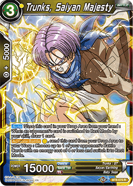 Trunks, Saiyan Majesty