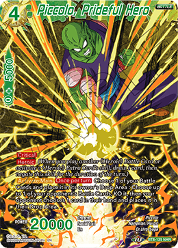 Piccolo, Prideful Hero