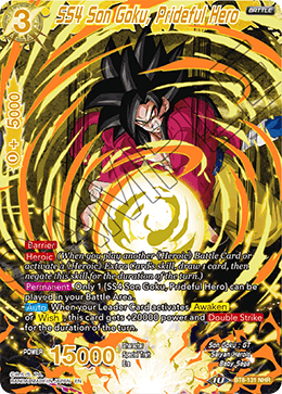 SS4 Son Goku, Prideful Hero