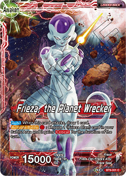 Frieza, the Planet Wrecker