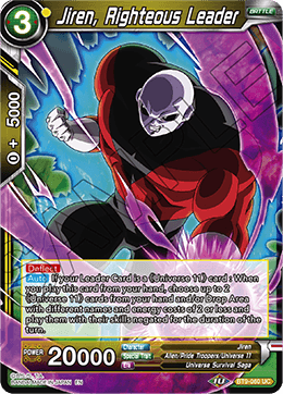 Jiren, Righteous Leader