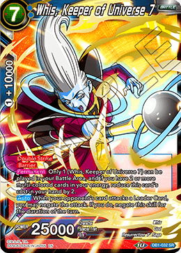 Whis, Keeper of Universe 7