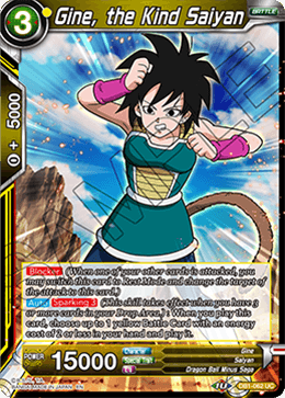 Gine, the Kind Saiyan