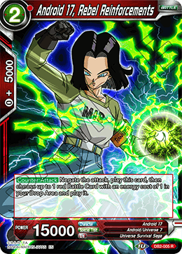 Android 17, Rebel Reinforcements