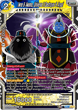 Iwne & Awamo, Universe 1 Destroyer & Angel