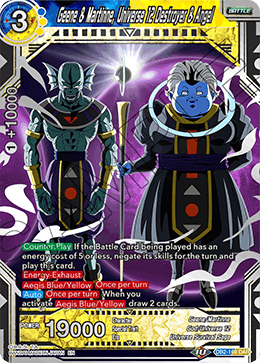 Geene & Martinne, Universe 12 Destroyer & Angel