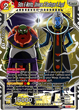 Sidra & Mohito, Universe 9 Destroyer & Angel