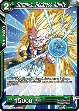 Gotenks, Reckless Ability