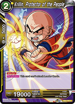 Krillin, Protector of the People