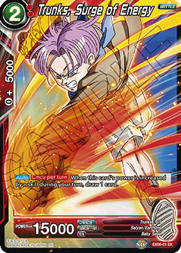 Trunks, Surge of Energy